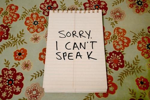 sorrycantspeak
