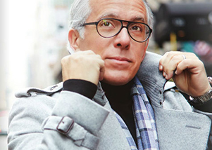 Geoffrey Zakarian pops his collar